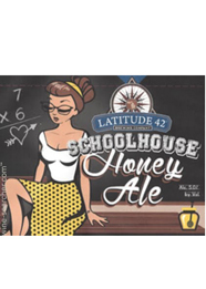 Latitude 42 Schoolhouse Honey Aber Ale