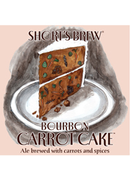 Shorts Bourbon Carrot Cake