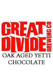 Great Divide oak Aged Yetti Chocolate