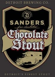 Detroit Brewing Sanders Chocolate Stout