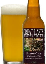 Great Lakes Grassroost Saison