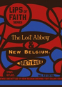 New Belgium Lost Abbey Brett Beer